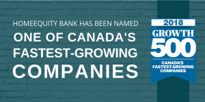 Canada Growth 500 2018 - Home Equity Bank